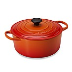 Le Creuset® Signature 5.5 qt. Round Dutch Oven in Flame