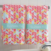 Geometric Hand Towel