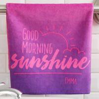 Morning Motivation Hand Towel