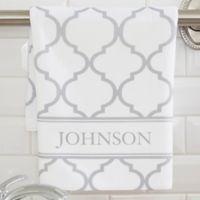 Geometric Pattern Hand Towel