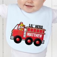Jr. Firefighter Baby Bib