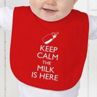 Keep Calm Baby Bib