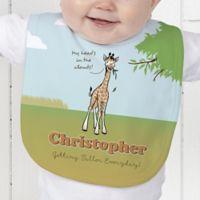 Lovable Giraffe Baby Bib