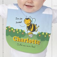 Lovable Bee Baby Bib