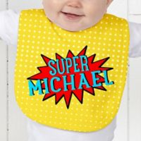 Super Hero Baby Bib