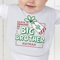 Promoted by Santa Baby Bib