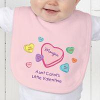Little Valentine Baby Bib