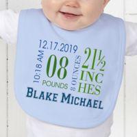 Baby's Big Day Baby Bib