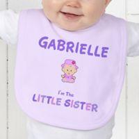 Sister Character Baby Bib
