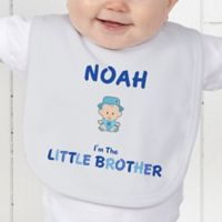 Brother Character Baby Bib