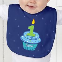 My Little Cupcake Birthday Baby Bib