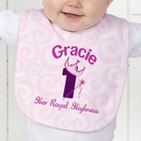 Birthday Princess Baby Bib