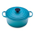 Le Creuset® Signature 4.5 qt. Round Dutch Oven in Caribbean