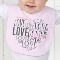 A Heart Full of Love Baby Bib