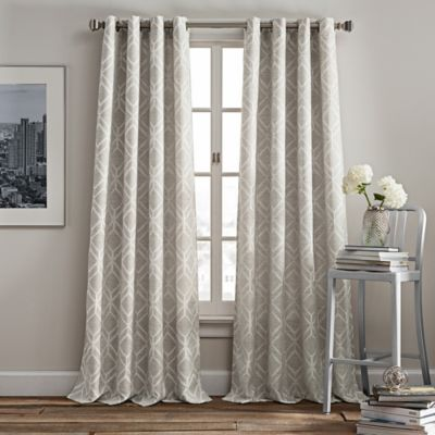 Rutherford Grommet Top Window Curtain Panel