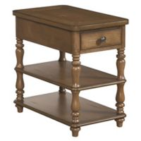 Palmetto Home Square End Table in Brown