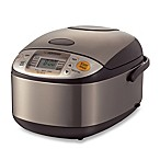 Zojirushi 5-1/2 Cup Micom Rice Cooker and Warmer in Stainless Steel