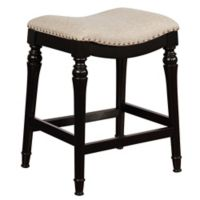 Powell Hayes Backless Counter Stool in Black