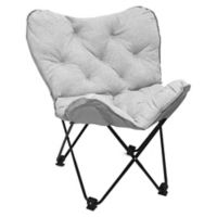 Butterfly Chair in Light Grey