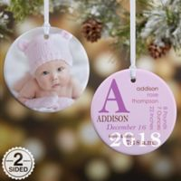 All About Baby 2-Sided Glossy Christmas Ornament