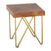 Steve Silver Co. Walter End Table in Brown