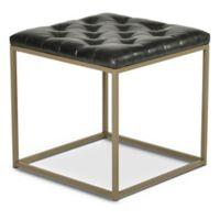 Steve Silver Co. Glenda End Table in Grey