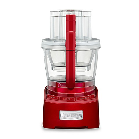 Cuisinart® Elite Collection™ 12-Cup Food Processor in Metallic Red