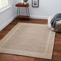 Desert Sand 9' x 12' Indoor/Outdoor Area Rug in Tan