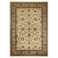 Verona 3-Foot 3-Inch x 4-Foot 7-Inch Rug in Ivory/Blue