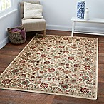 Verona Suzani 5-Foot 3-Inch x 7-Foot 7-Inch Rug in Ivory/Blue