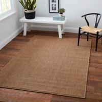 Oriental Weavers Santiago 7-Foot 10-Inch x 10-Foot 10-Inch Indoor/Outdoor Accent Rug in Brown