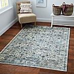 KAS Bennett Tapestry 3'3 x 4'7 Accent Rug in Ivory