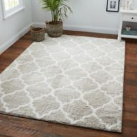 Nicole Miller Spectrum 2'6 x 3'11 Accent Rug in Grey