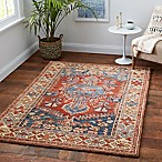 Sienna 5' x 7' Area Rug in Rust