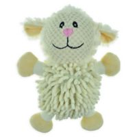 Bounce & Pounce Sheep Ball Dog Toy in White