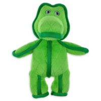 Bounce & Pounce Tuffy Gator Dog Toy in Green