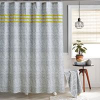 Koba Shower Curtain in Charcoal