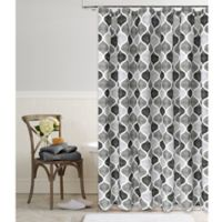 Priya 72-Inch Square Shower Curtain in Grey