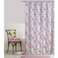 Priya 72-Inch x 84-Inch Shower Curtain in Plum