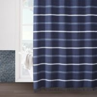 Naomi 54-Inch x 78-Inch Shower Curtain in Navy