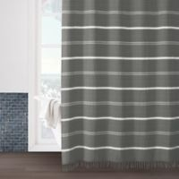 Naomi 54-Inch x 78-Inch Shower Curtain in Grey