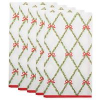 Garland Trellis Paper Guest Towel in White