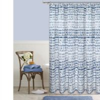 Raindance 54-Inch x 78-Inch Shower Curtain in Indigo