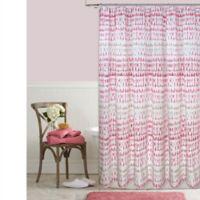 Raindance 72-Inch x 96-Inch Shower Curtain in Blush