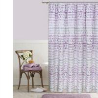 Raindance 72-Inch x 96-Inch Shower Curtain in Purple