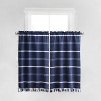 Haus & Haven Naomi Window Curtain Panel Pair in Navy
