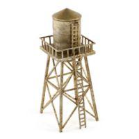 Design Ideas Water Tower Decorative Sculpture in Silver