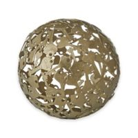 """Madison Park Signature 2.64"""" Key Sphere in Gold"""