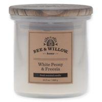 Bee & Willow™ Home Peony Freesia 10.2 oz. Jar Candle