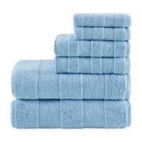 Madison Park Signature Parker 6-Piece Bath Towel Set in Blue